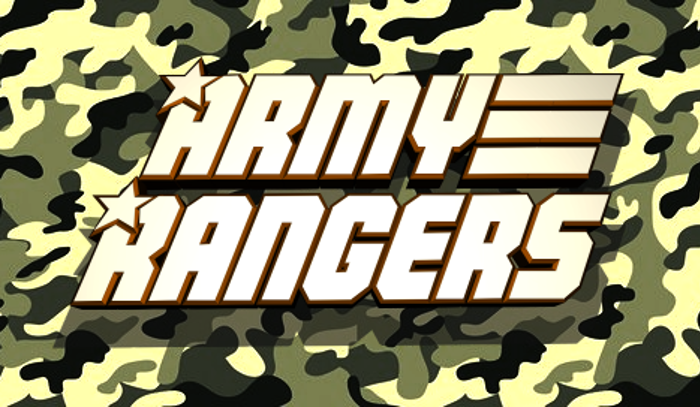 Army Rangers Font poster