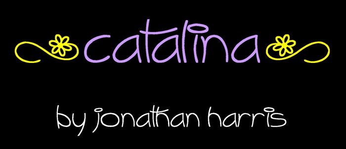 Catalina Font poster
