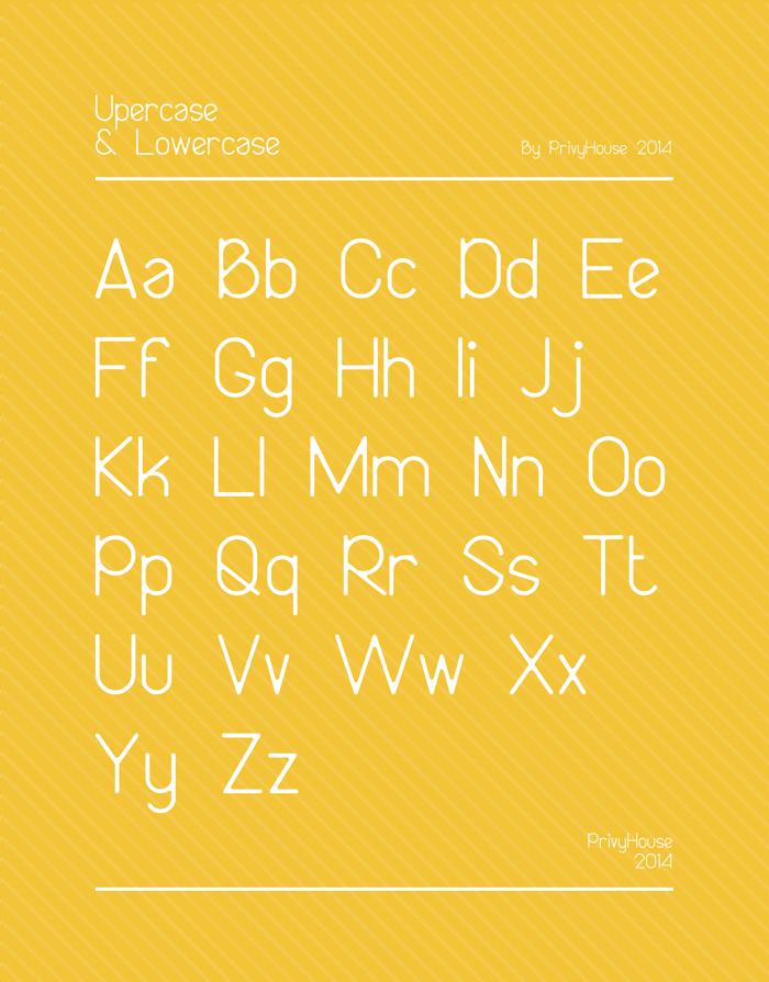 Bireun Font poster
