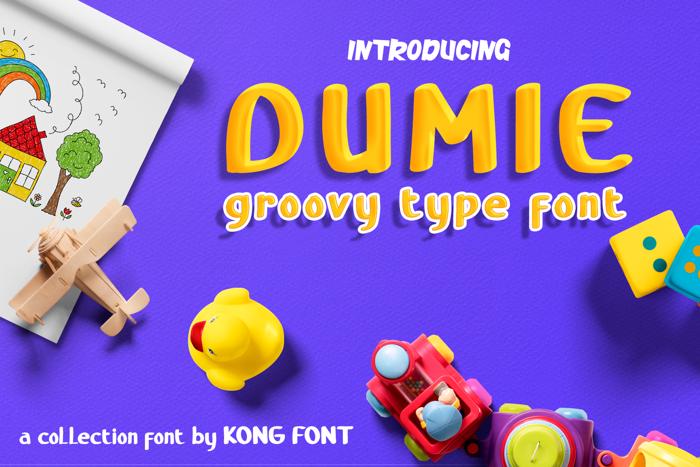 Dumie Font poster