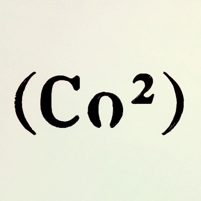 Co2 Font poster