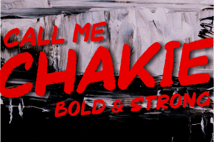 Chakie Font poster