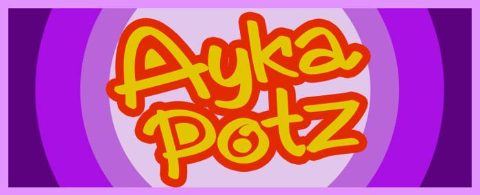 AykaPoTz Font poster