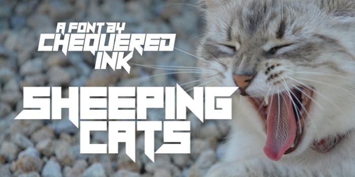 Sheeping Cats poster