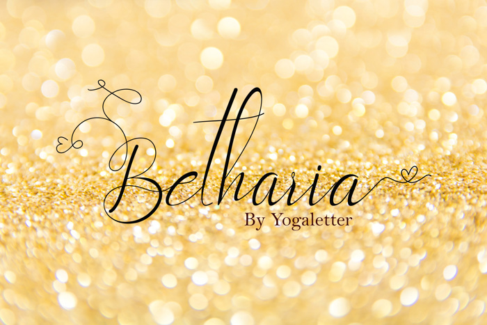 Betharia Font poster