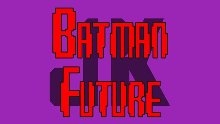 Batman Future Font poster