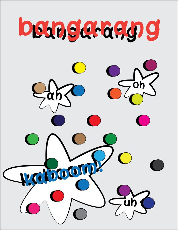 bangarang Font poster