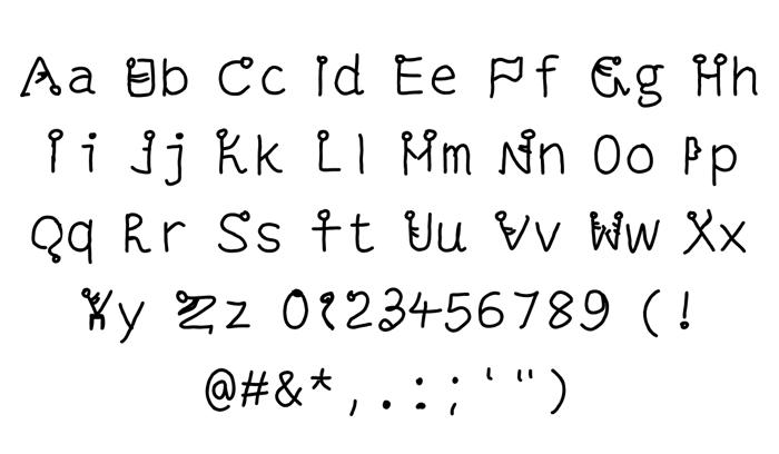 ALPHA KUNGFU Font poster