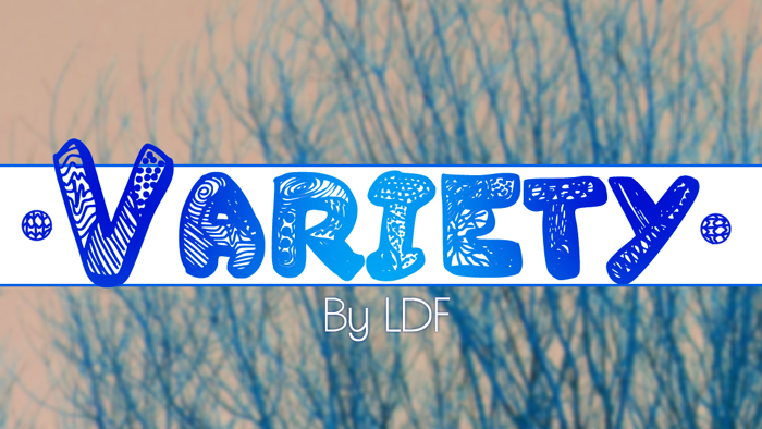 Variety Font poster
