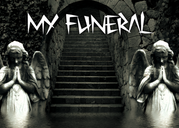 My Funeral Font poster