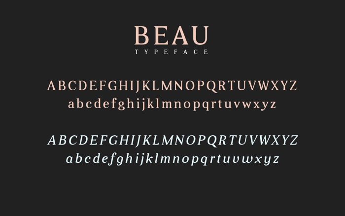 Beau poster