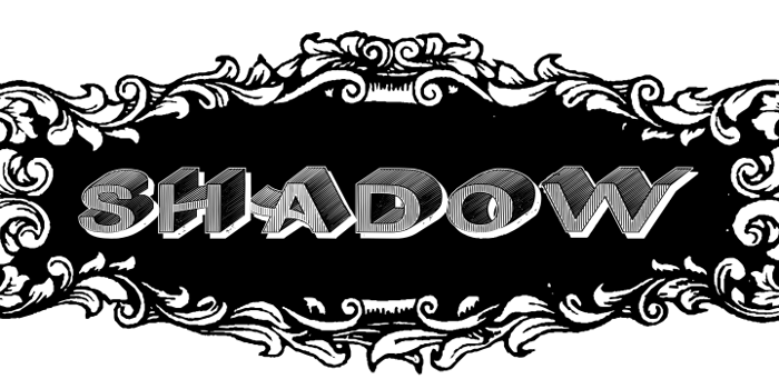 DasRiese Shadow Font poster