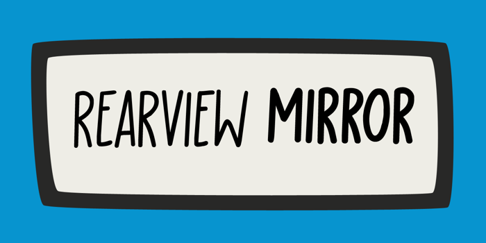 Rearview Mirror DEMO Font poster