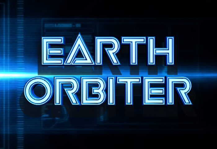 Earth Orbiter Font poster