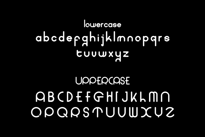 coet bold Font poster