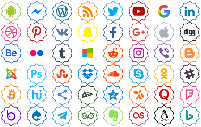 Font Color icon poster