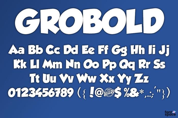 GROBOLD Font
