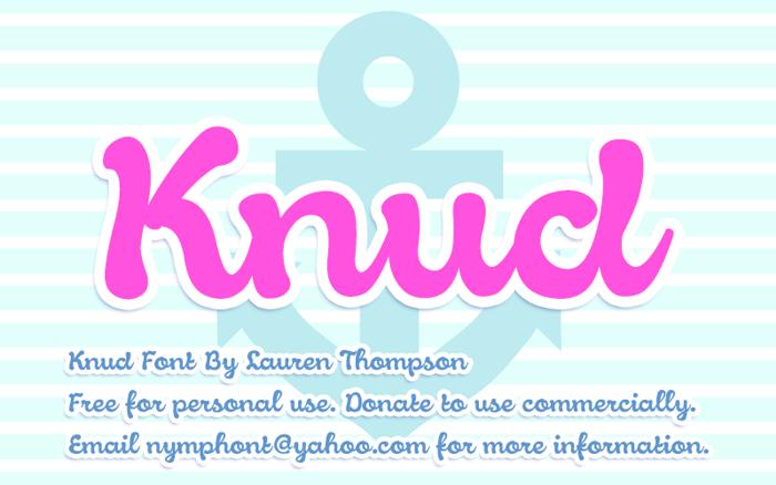 Knud Font poster