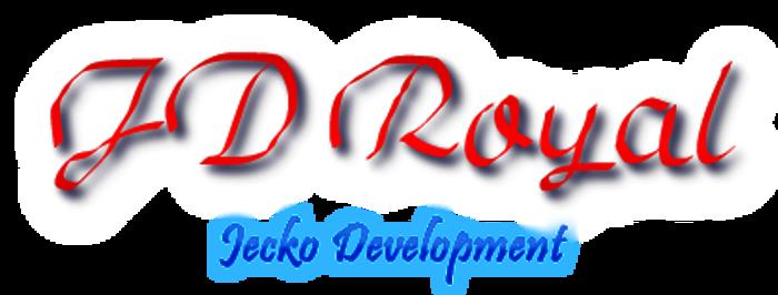 JD Royal Font poster