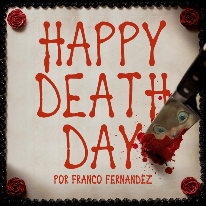 Happy Death Day Font poster