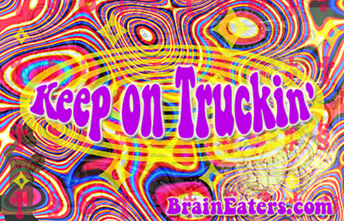 Keep on Truckin' FW Font poster