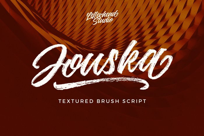 Jouska Regular Font poster