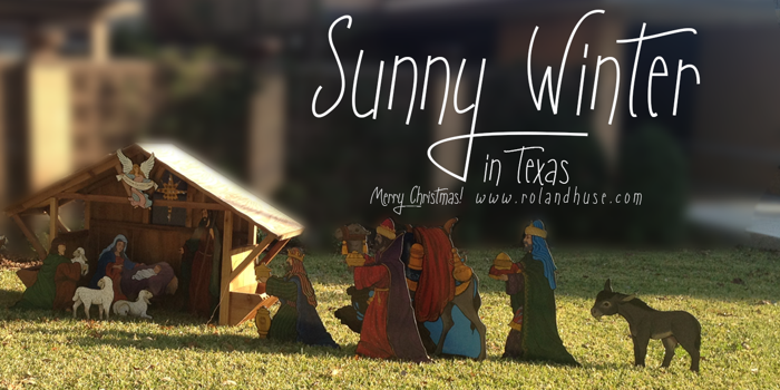 Sunny Winter Font poster