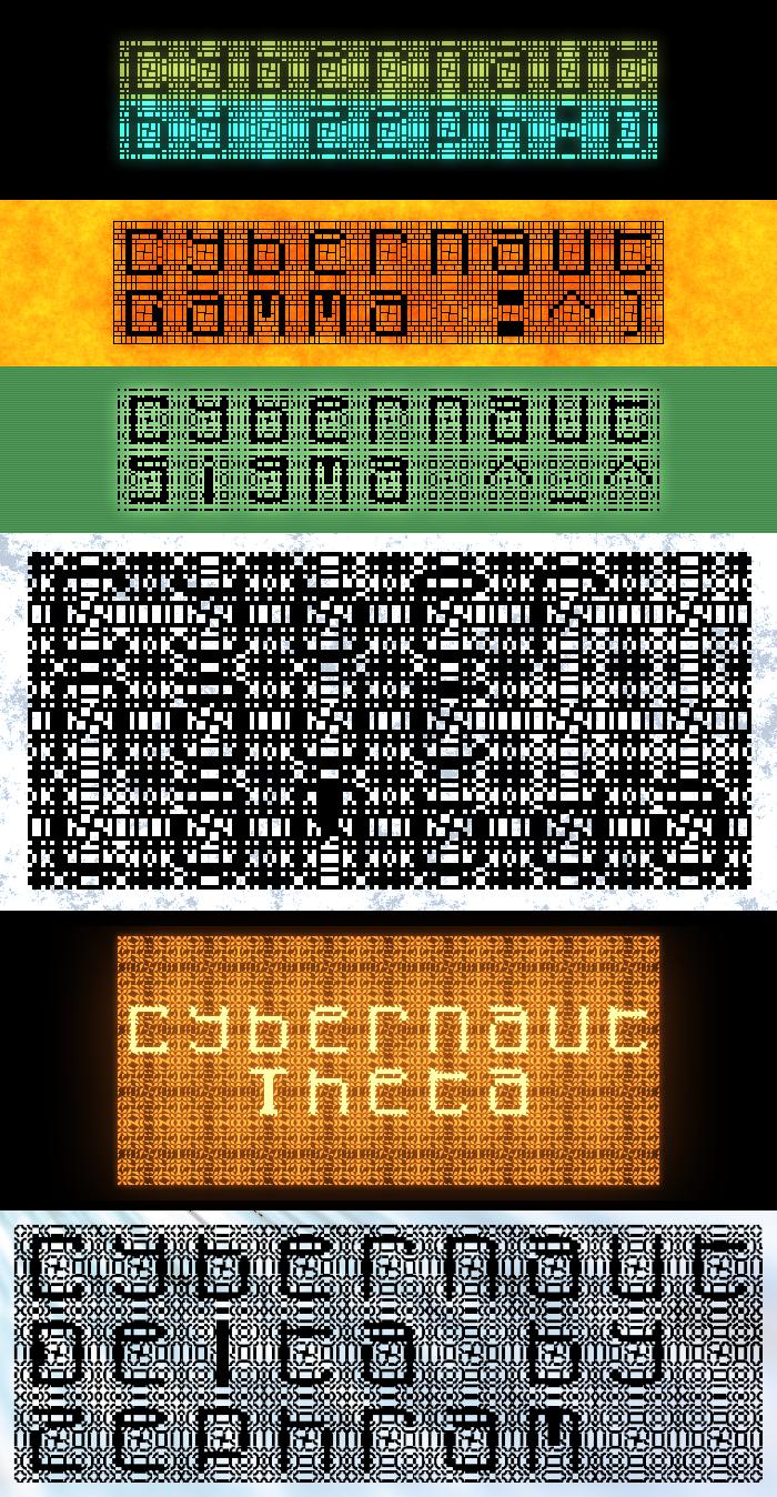 Cybernaut Font