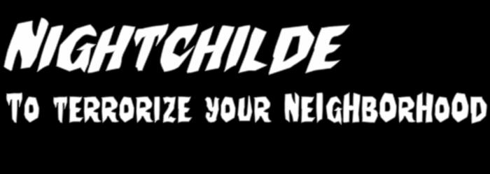 Nightchilde Font poster
