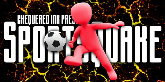 Sportsquake Font poster