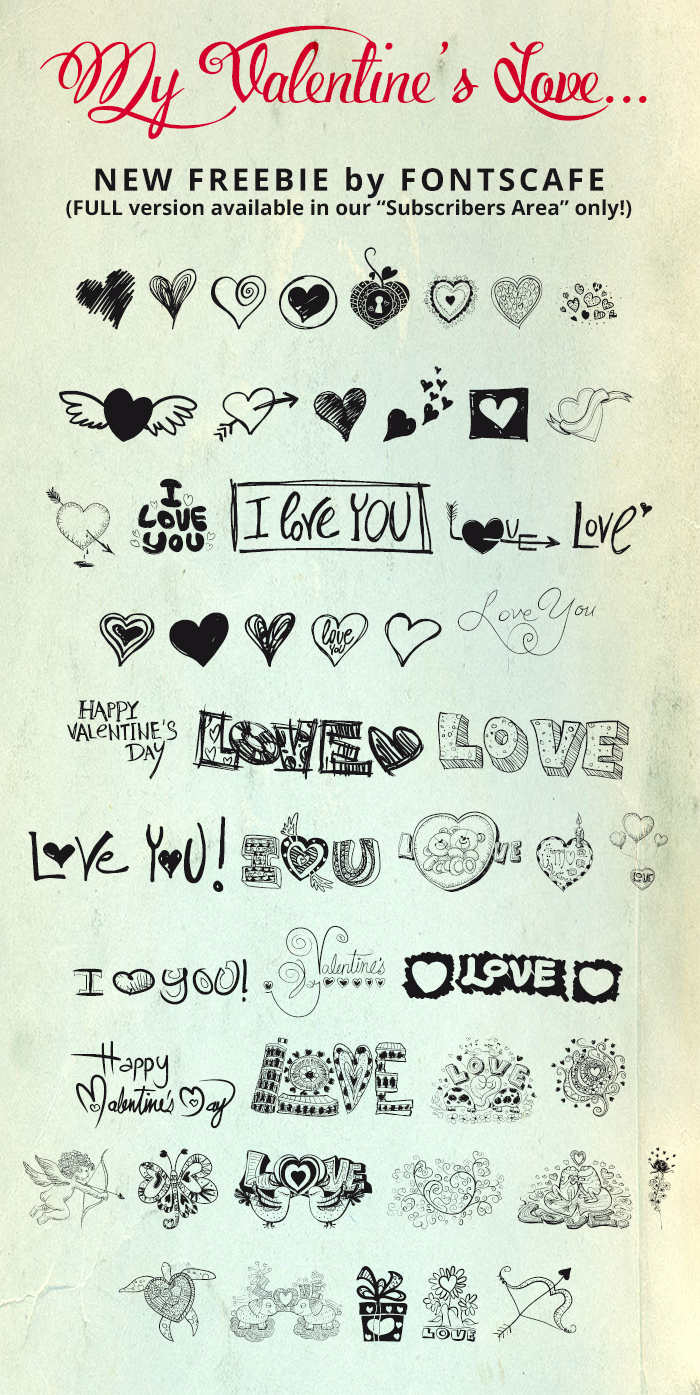 MyValentinesLove-demo Font poster