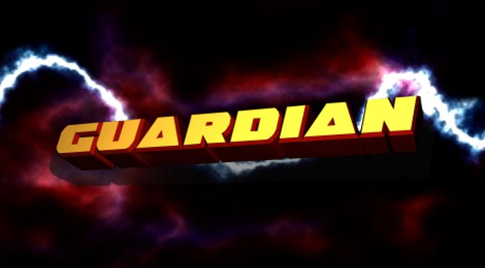 Guardian Font poster