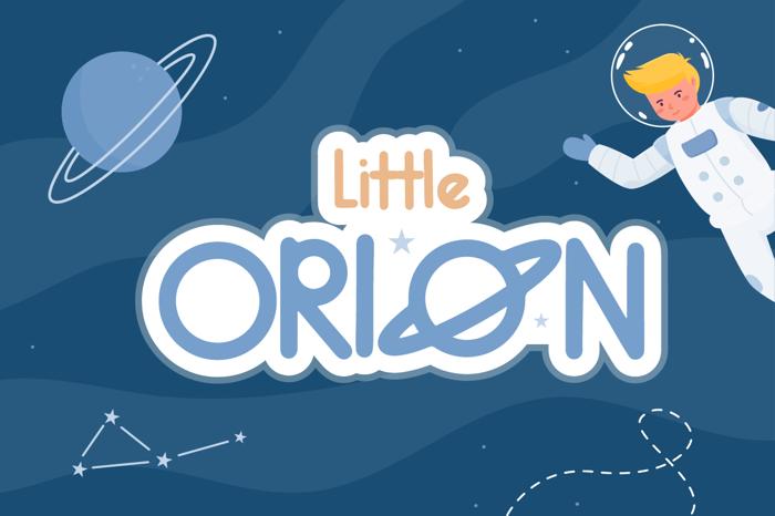 Little Orion Font poster