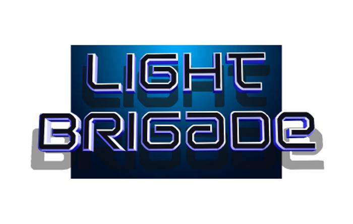 Light Brigade Font poster
