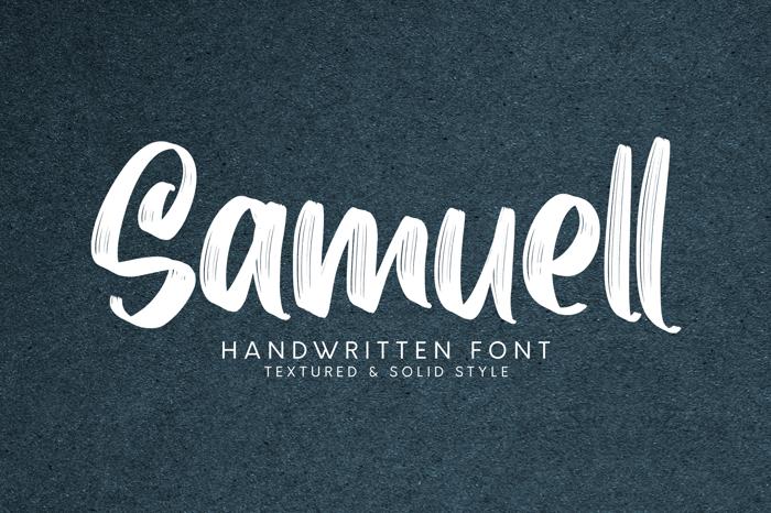 Samuell Font poster