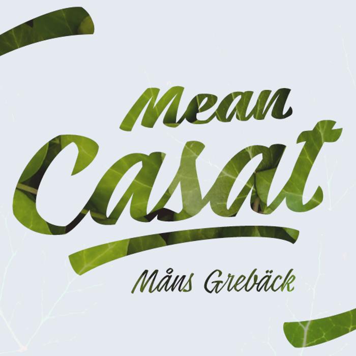 Mean Casat Font poster