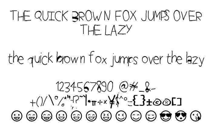 Perfect Handwriting Font poster