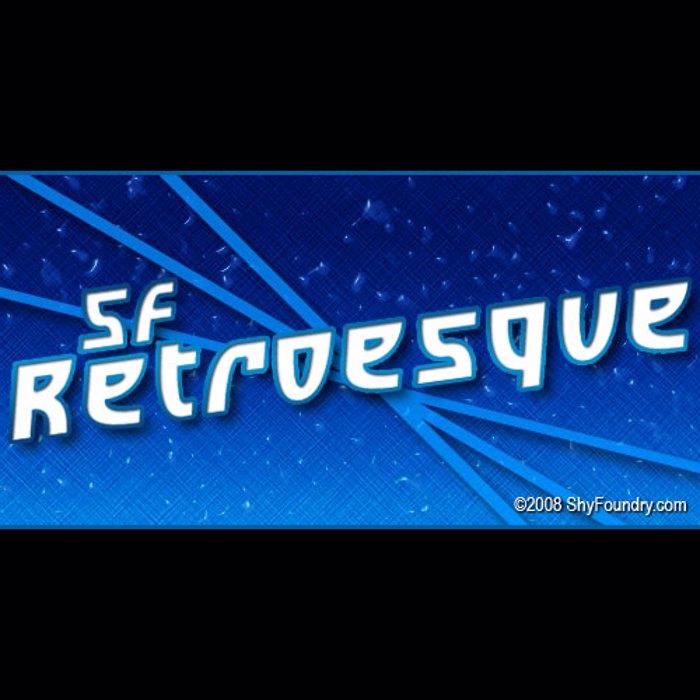 SF Retroesque Font poster