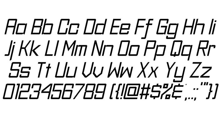 Sever Sans Font poster