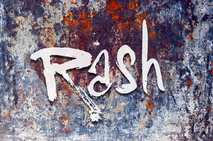 Vtks Rash Font poster