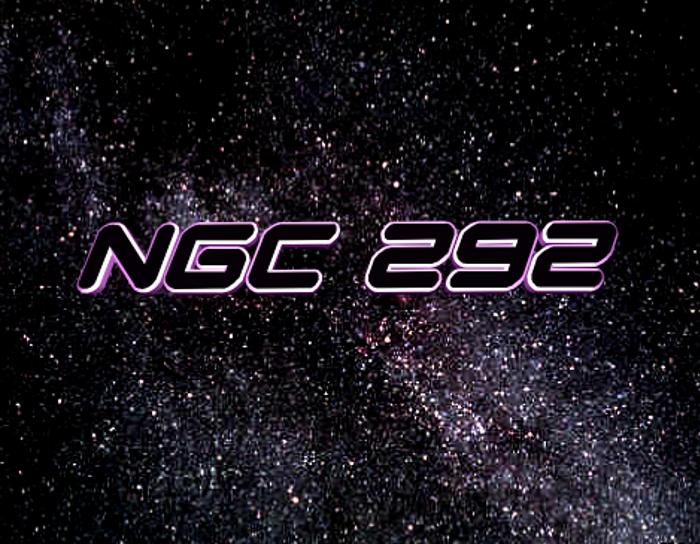 NGC 292 Font poster