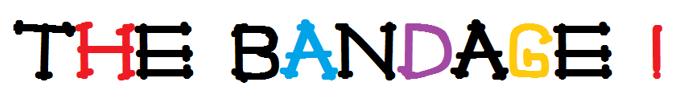 The Bandage Font poster