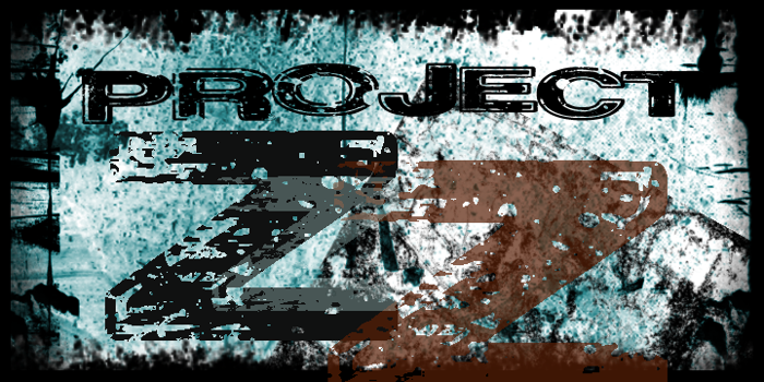 Project Z Font poster