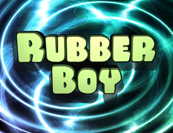 Rubber Boy Font poster