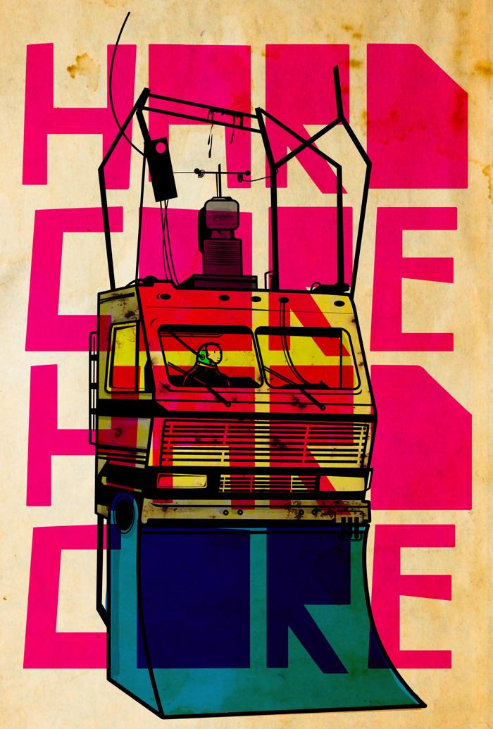 MARI Font poster