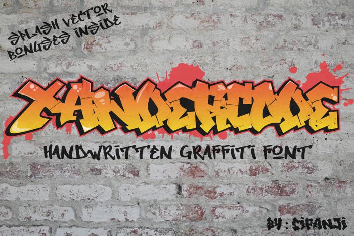Xandercode Font poster