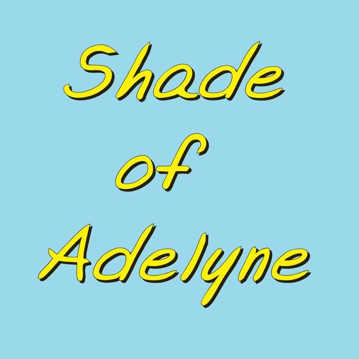 Shade of Adelyne Font poster