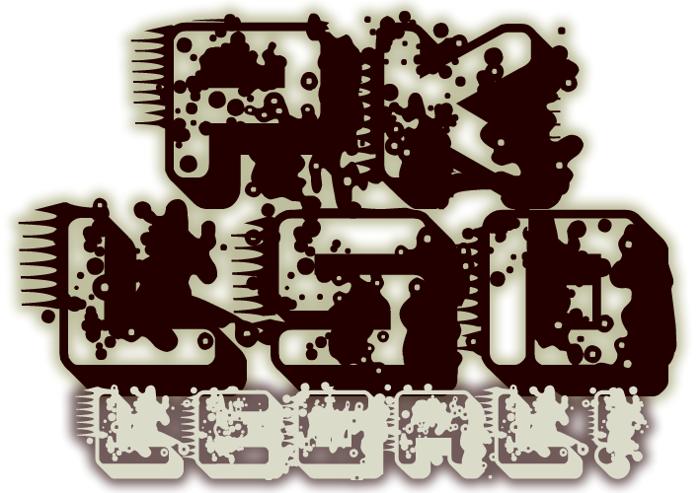 pk LSD Font poster