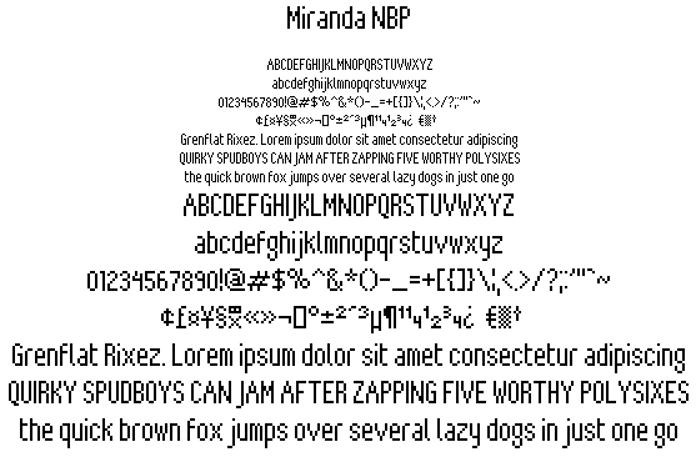 Miranda NBP poster