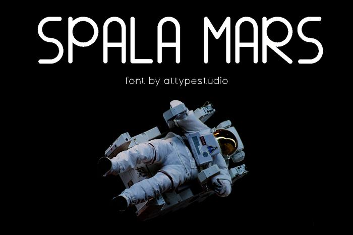 SPALA MARS Font